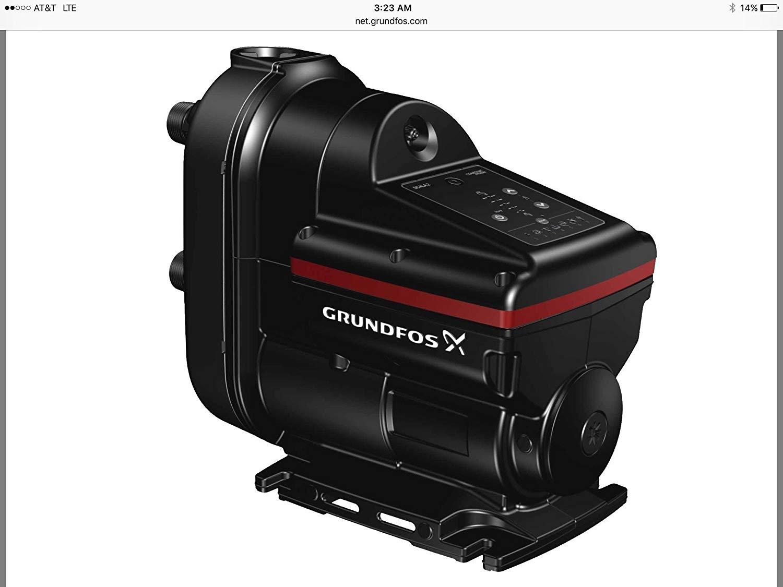 Grundfos 98562817 Pressure Boosting Pump