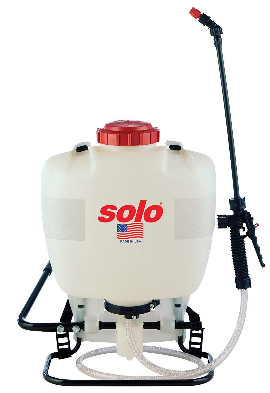 Solo Inc. 425 4-Gallon Professional Piston Backpack Sprayer