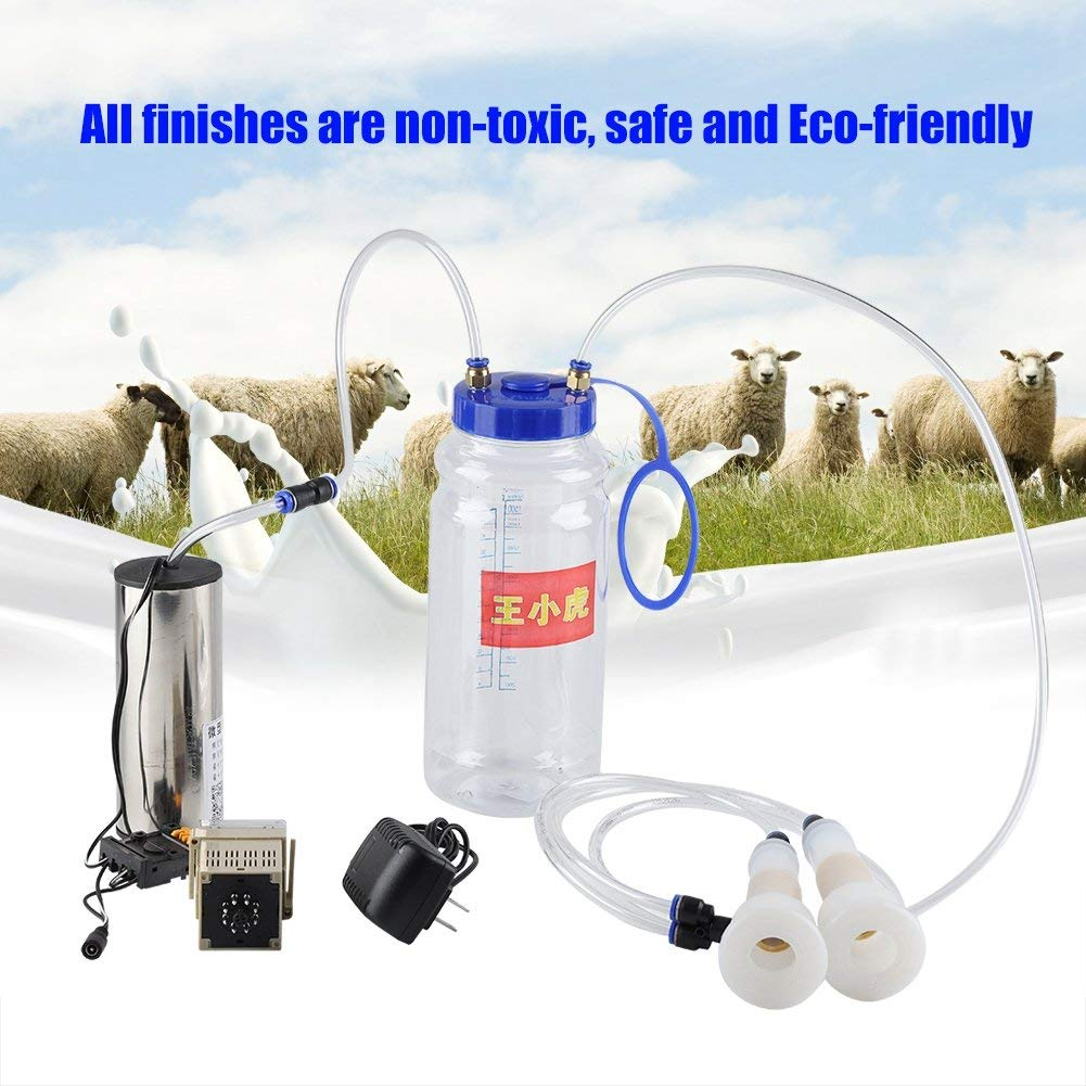 Yosooo 2L Portable Electric Cow Sheep Goat Milking Machine