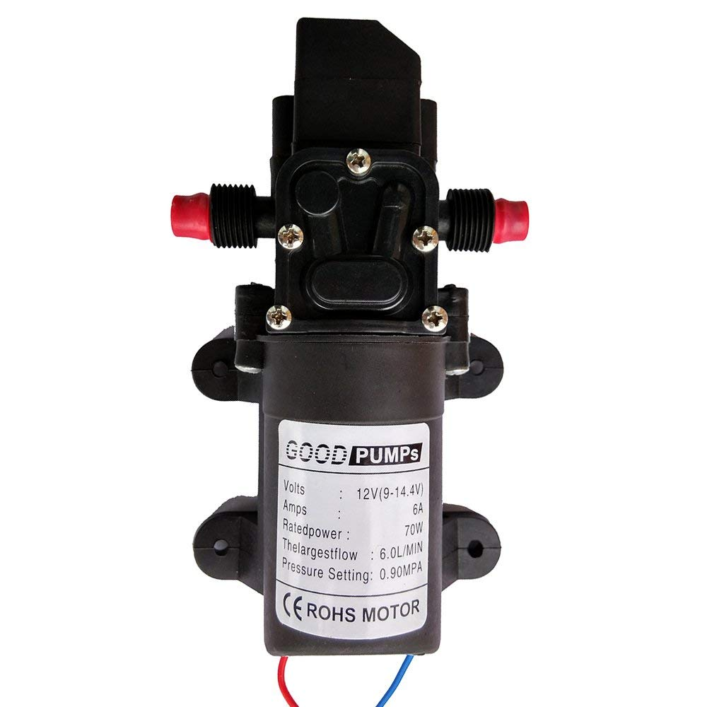 Zology Water Pressure Diaphragm Pump