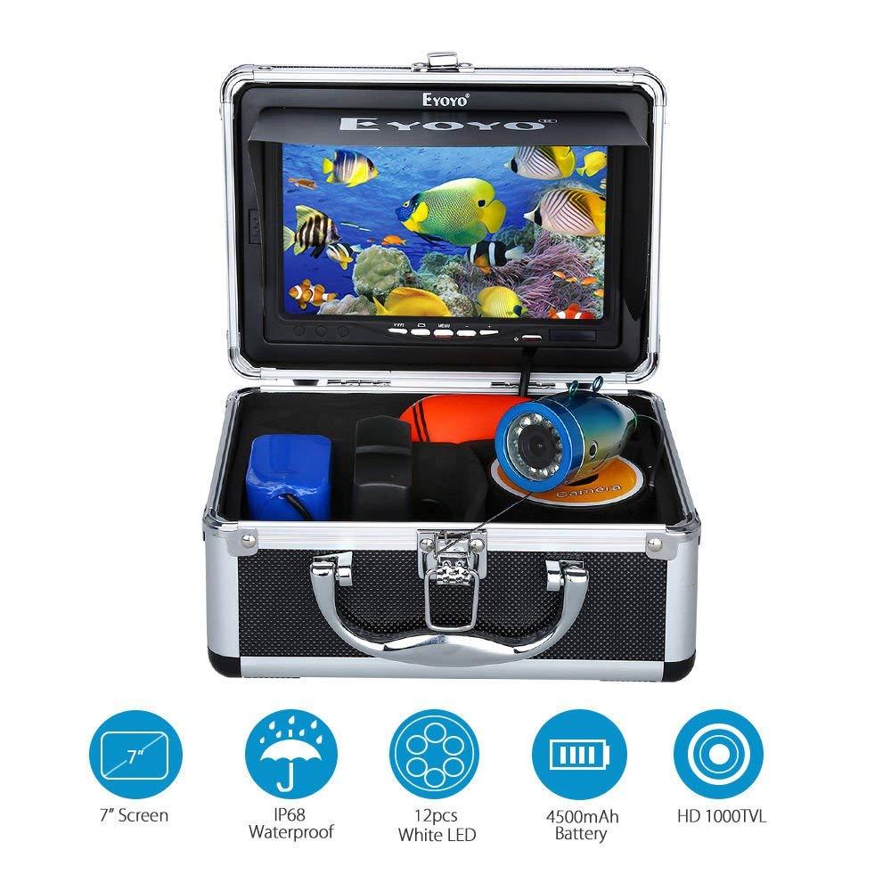 "7"" Color LCD 600tvl Waterproof Camera"