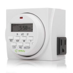 Century 7 Day Digital Programmable Timer