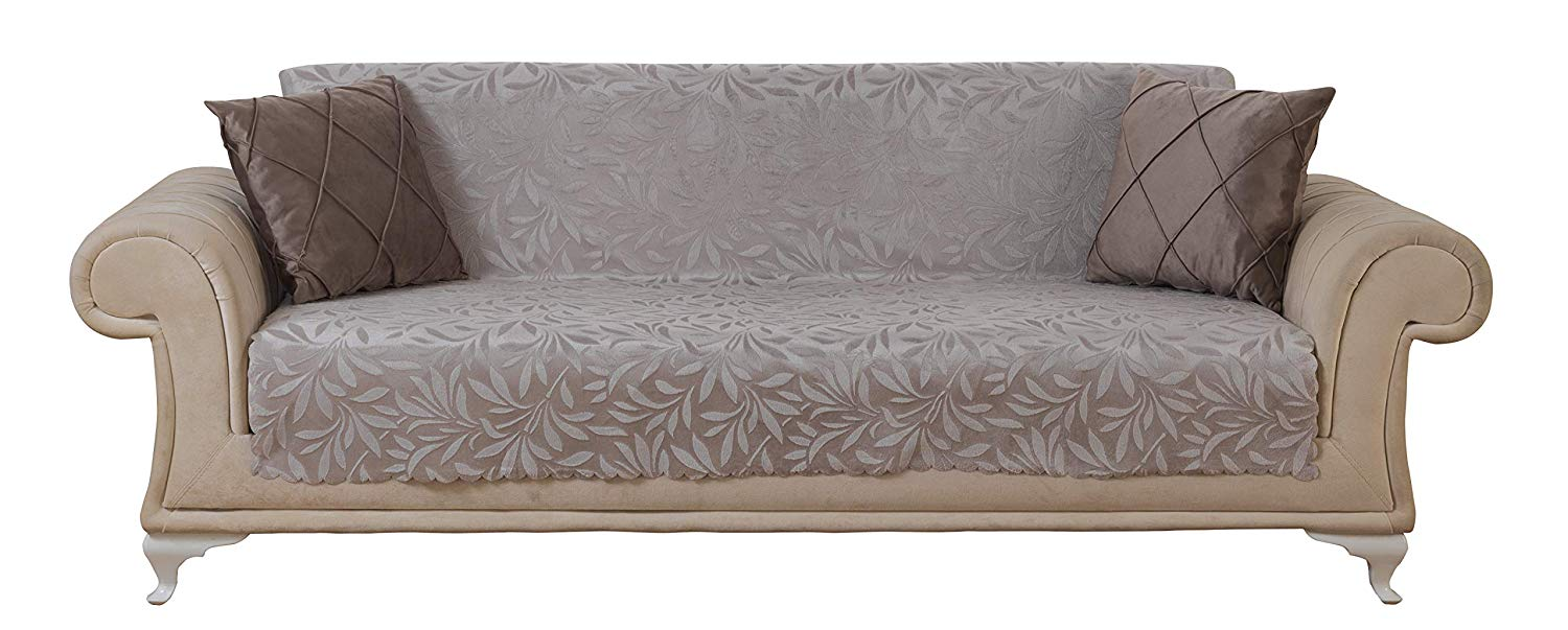 Chiara-Rose-Anti-Slip Armless-Sofa-Protector
