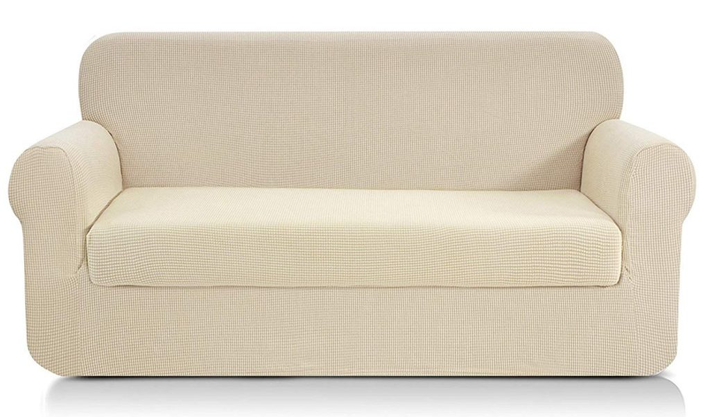Chunyi-Two-Piece Jacquard-Polyester-Spandex-Sofa-Slipcover