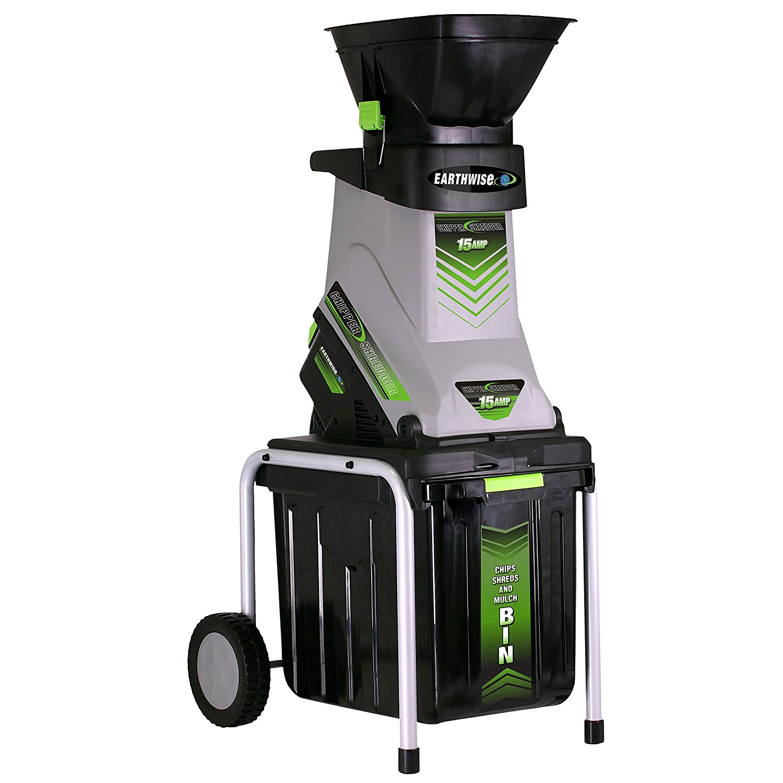 Earthwise GS70015 15-Amp Electric Garden Chipper/Shredder