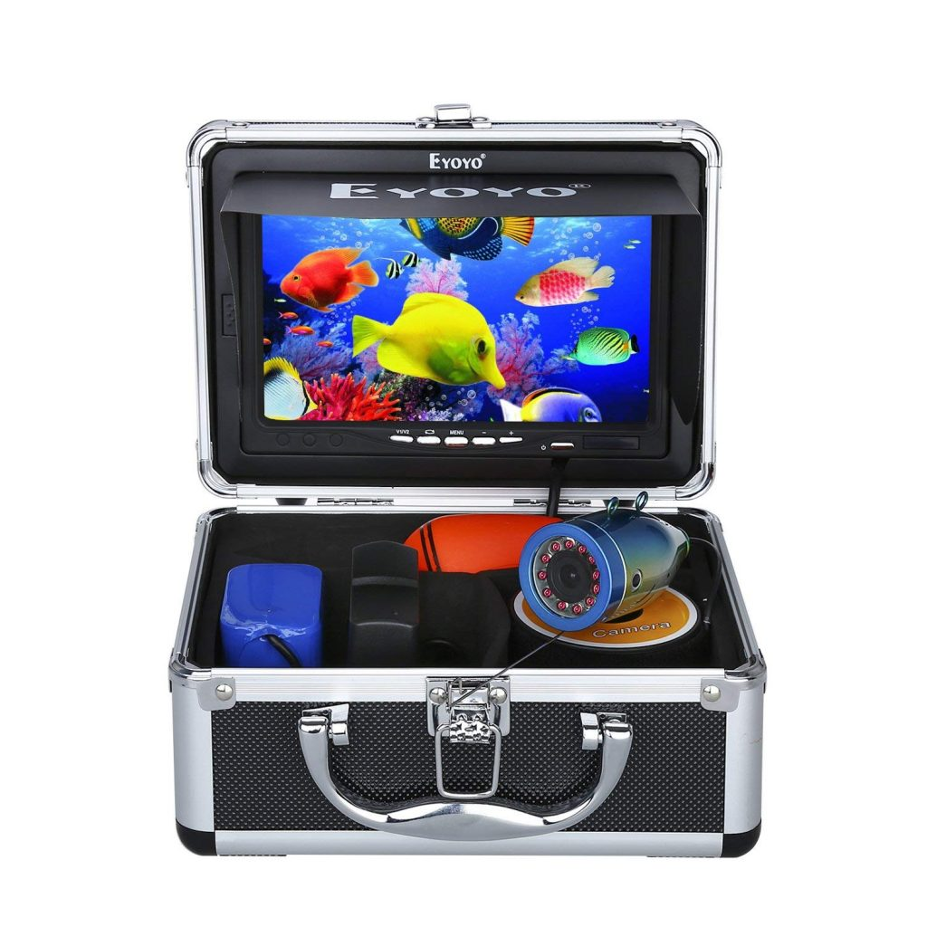 Eyoyo Portable 7 inch LCD Monitor Underwater Camera