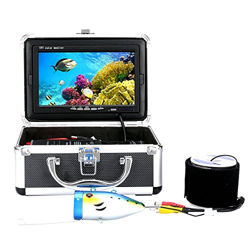 "GAMWATER 7"" Inch 1000tvl Underwater Fishing Video Camera"