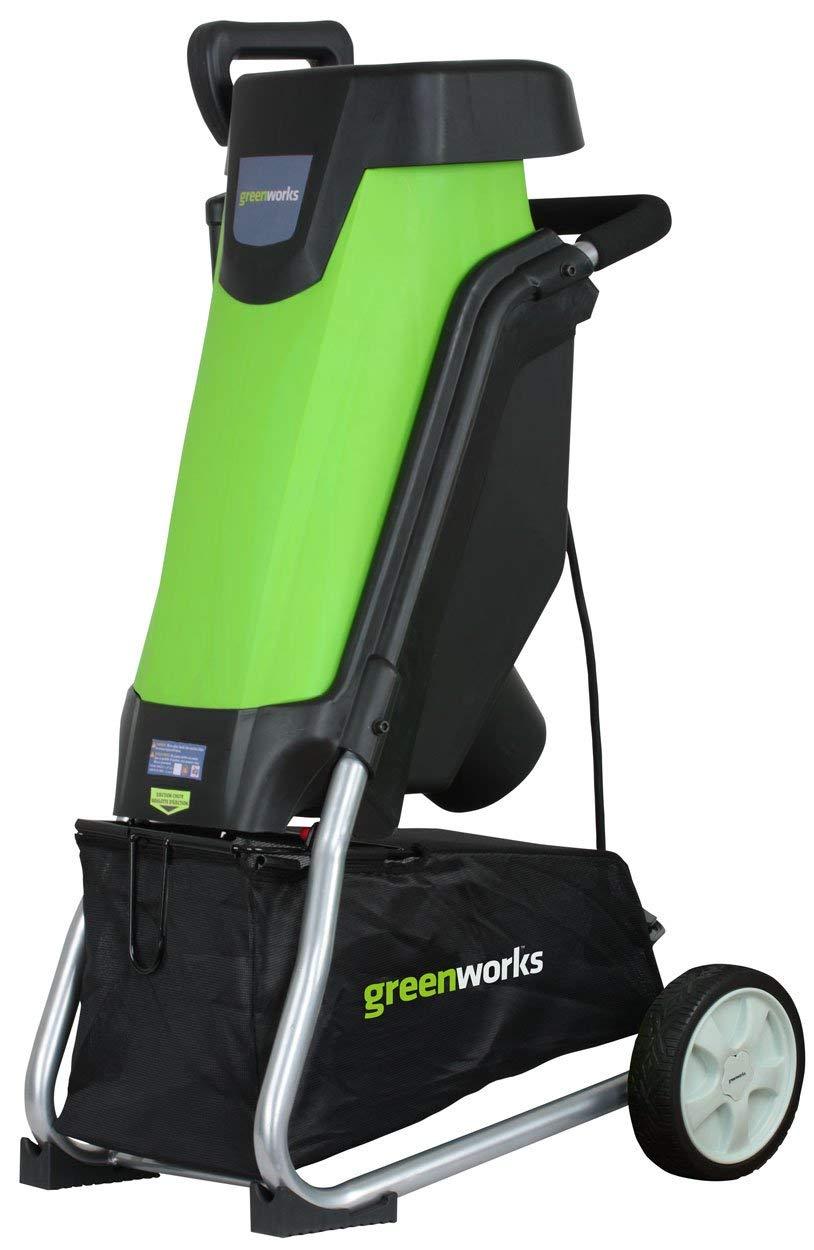Greenworks 15 Amp Corded Shredder & Chipper