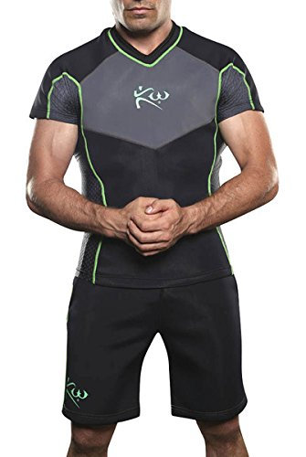 Kutting Weighted Men's Neoprene Sauna Shirt