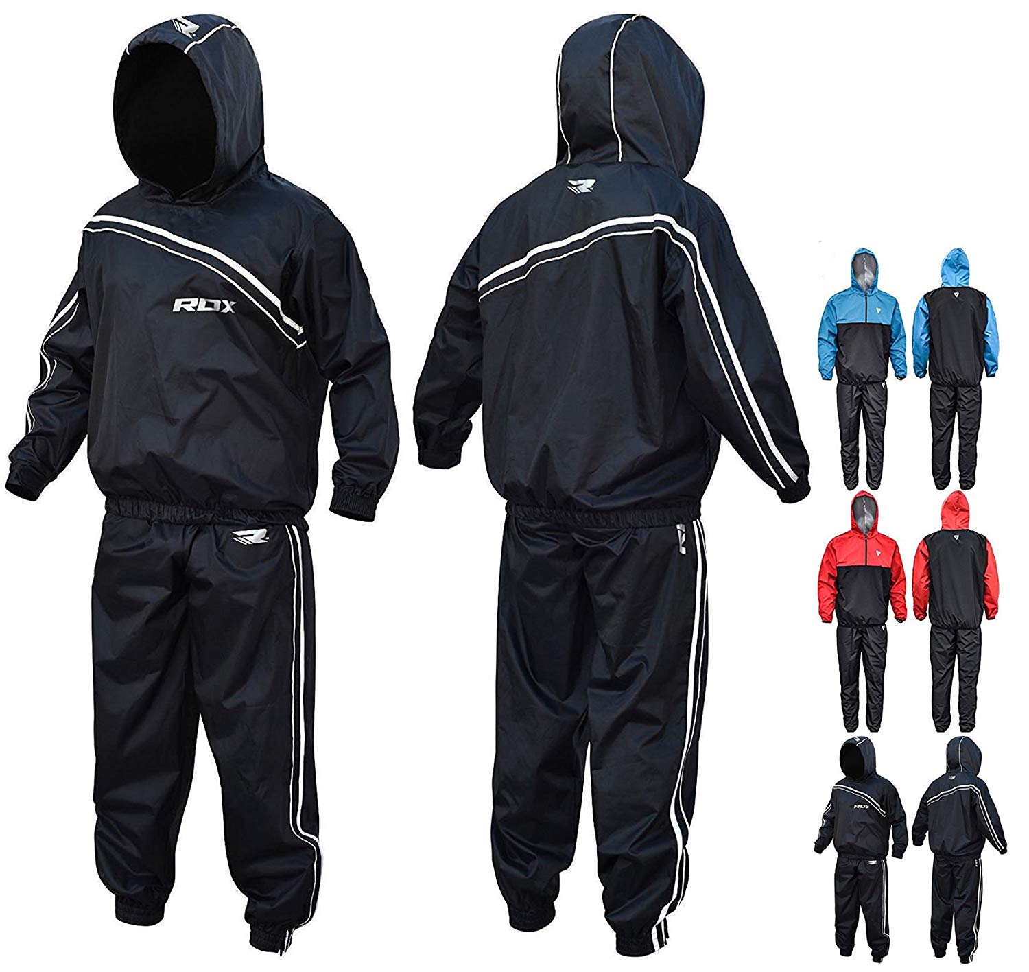 RDX MMA Sauna Weighted Running Suit