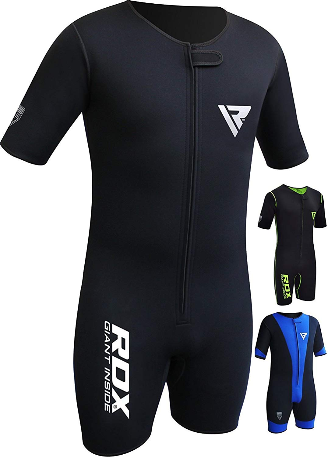 RDX Sauna Suit MMA Neoprene Sweat Weighted Shirt