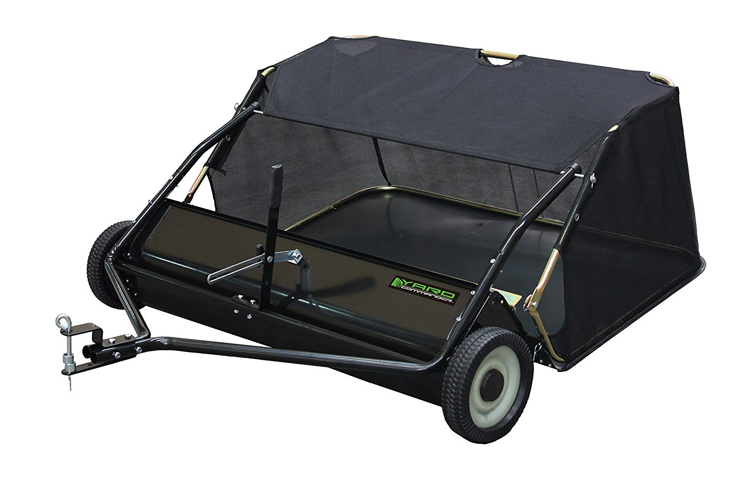 YARB Commander 48-inch Tow-Behind Lawn Sweeper