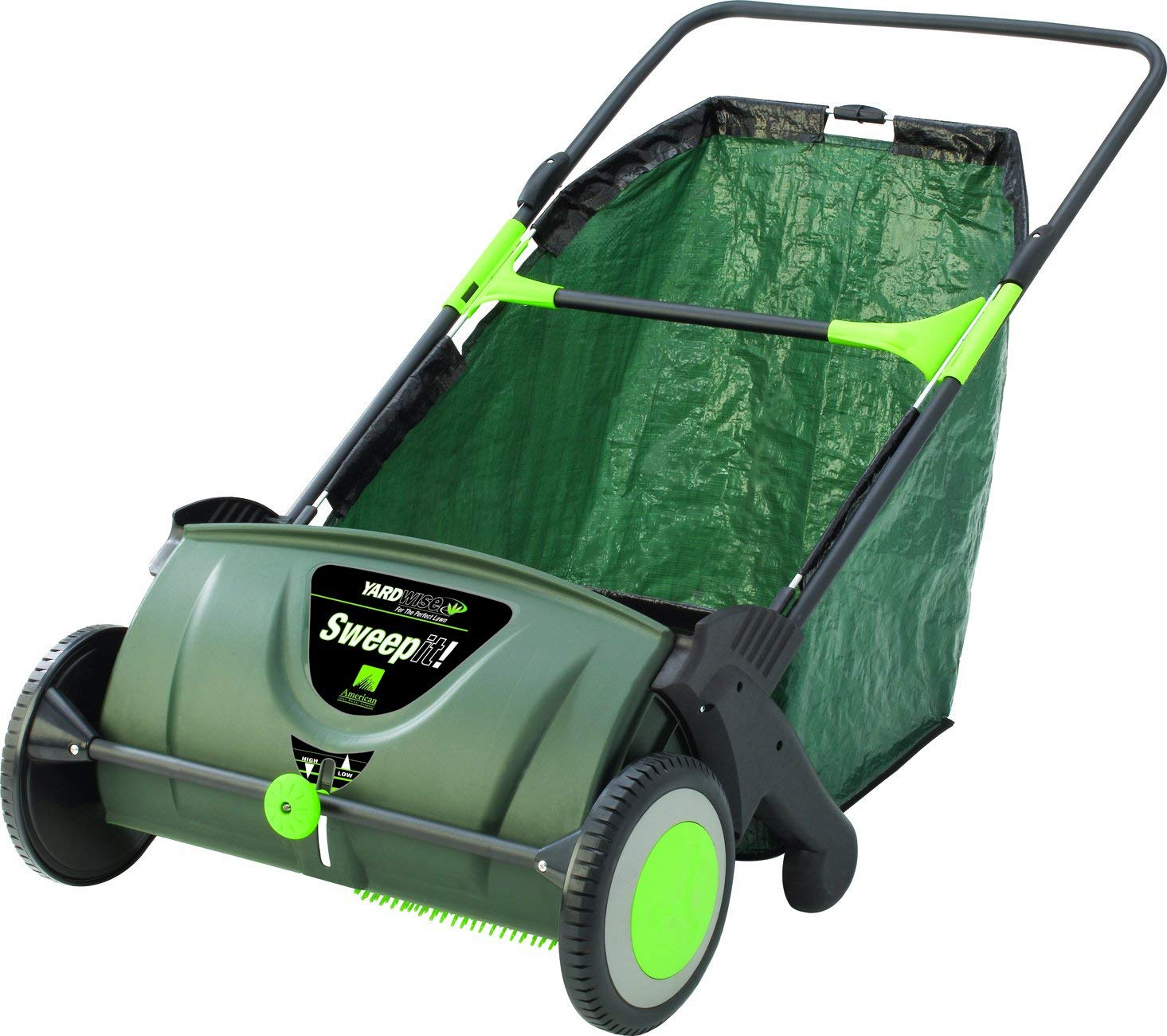 Yardwise 23630-YW Sweep It Push Lawn Sweeper