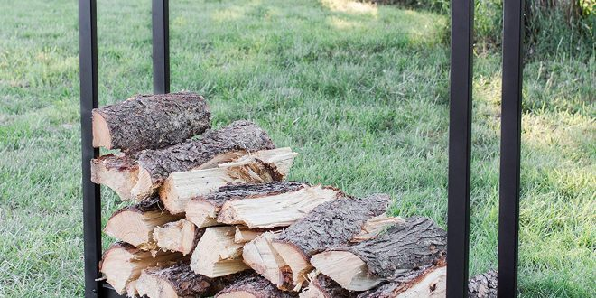 1.Go Indoor/Outdoor Heavy-Duty Firewood Rack