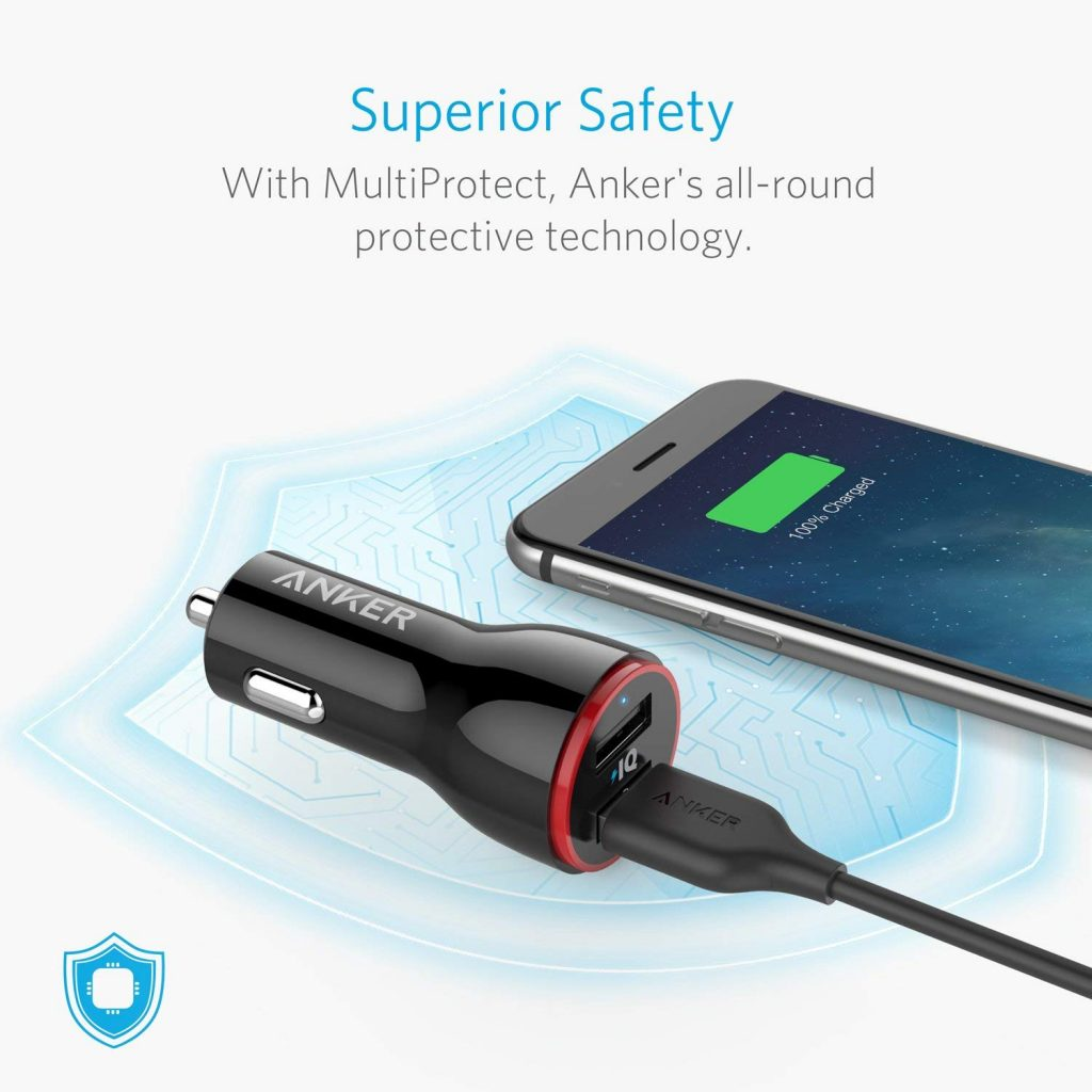 Anker Dual USB 24W Car Charger