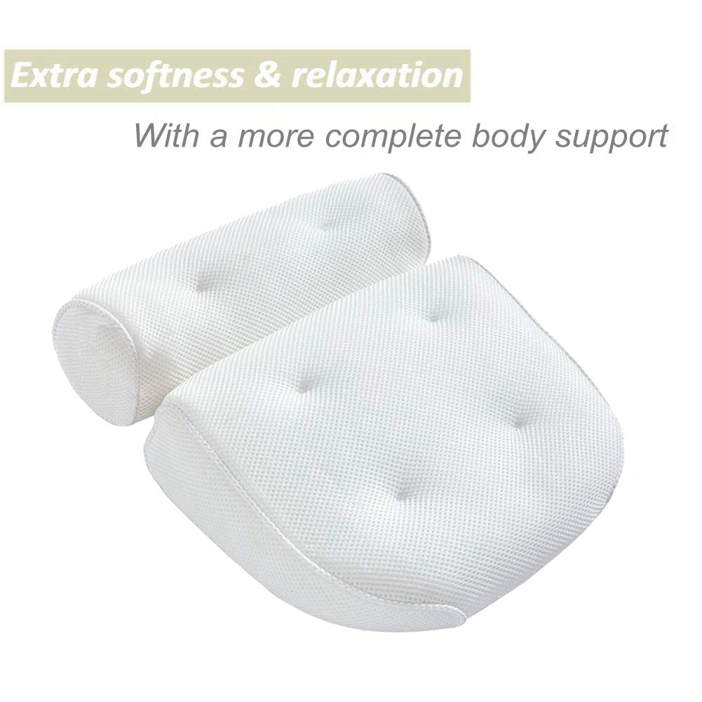 Bath Pillow Bathtub Spa Pillow