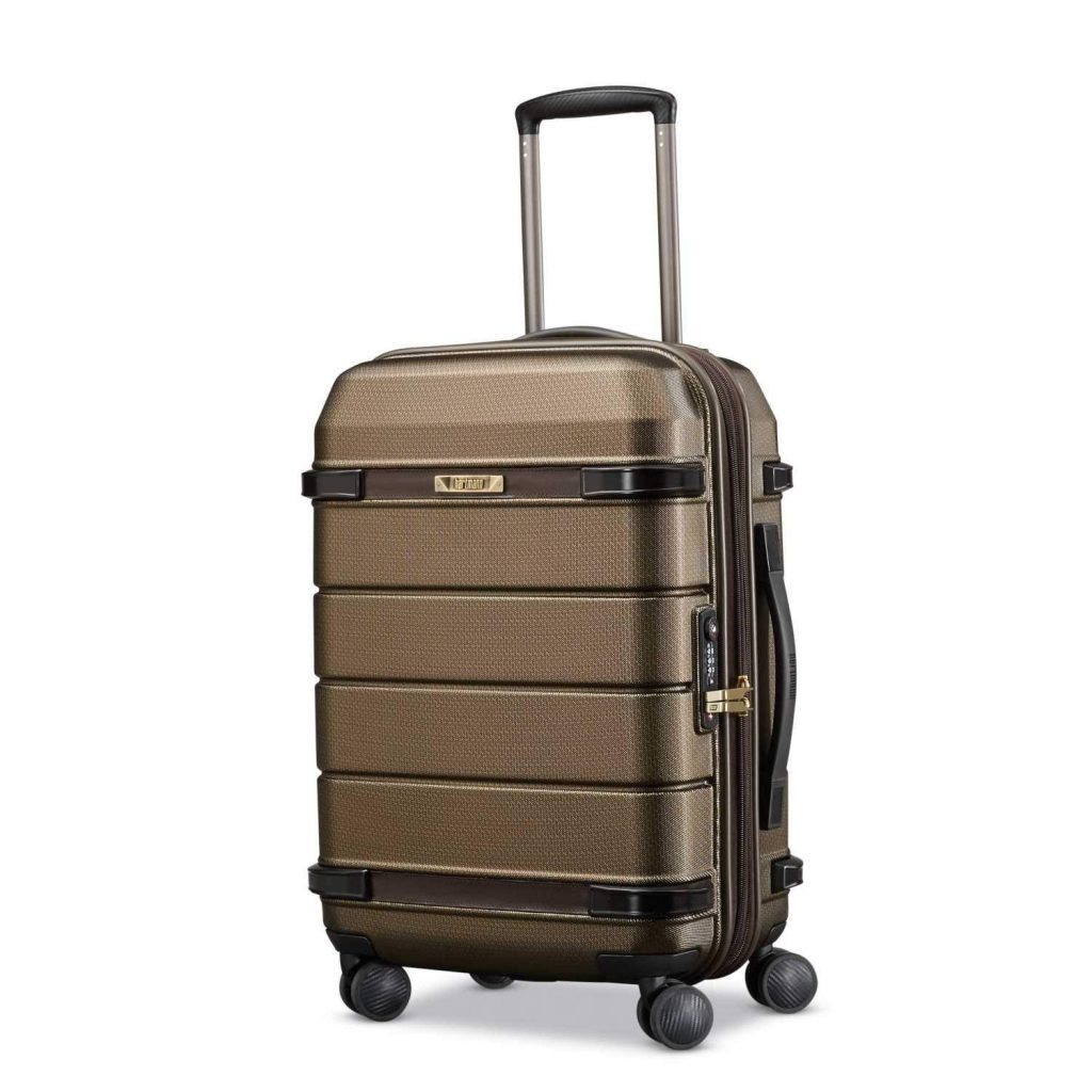 Century Carry-On Luggage Expandable Spinner by Hartmann