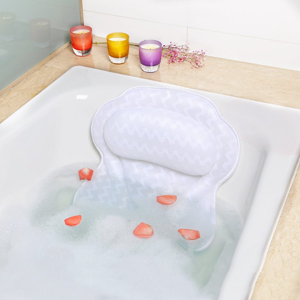 Luxury Non-Slip Bath Pillow