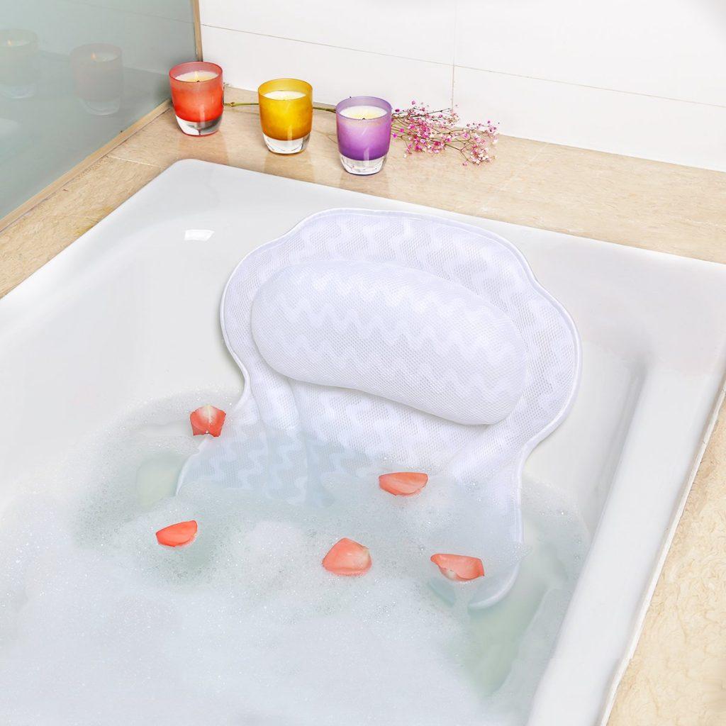 Luxury Non-Slip Bath Pillow