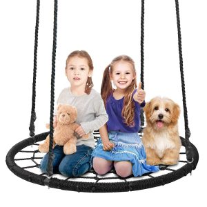 SUPER DEAL 40'' Spider Web Swing