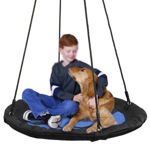 "SUPER DEAL 40"" Waterproof Saucer Swing Set"