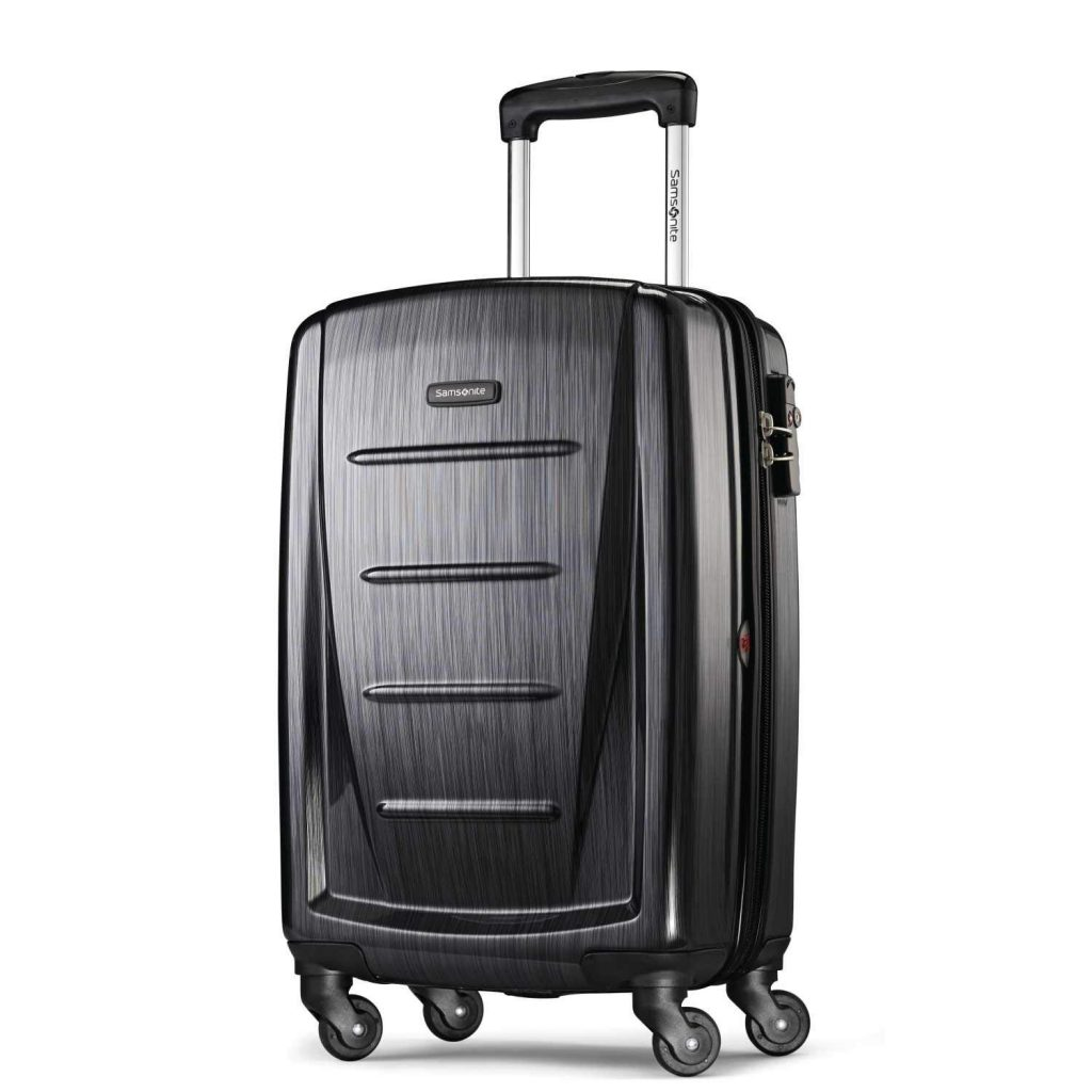 Samsonite Winfield 2 Brushed Anthracite Hard-side 20-inches Luggage