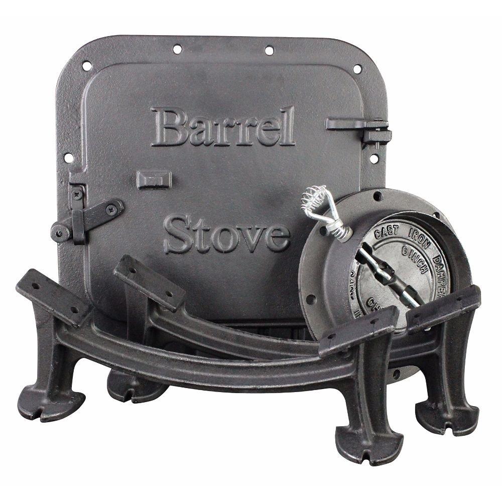 US Stove Co. Barrel Stove Kit