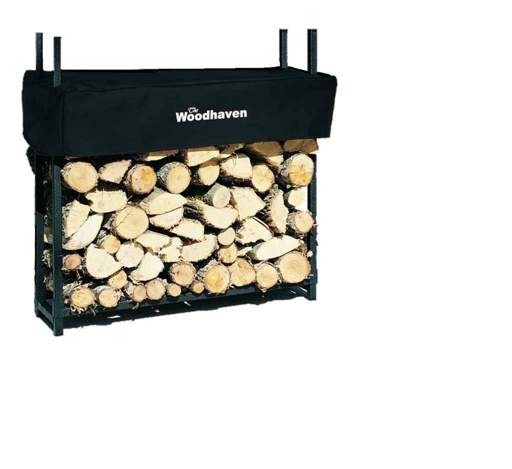 Woodhaven Firewood Rack with Cover