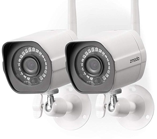 Zmodo Wireless Security Camera 2-Pack