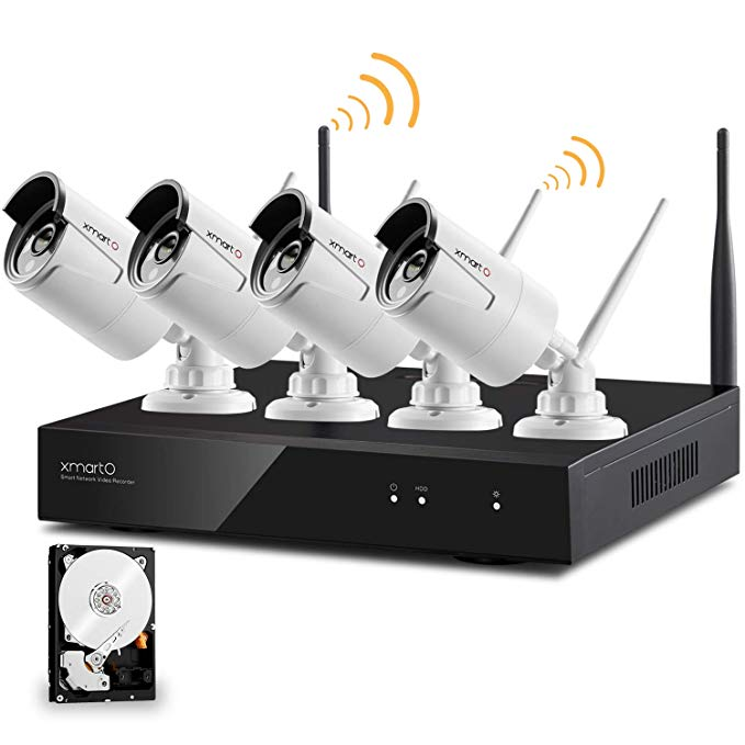 xmartO Wireless Security Camera System