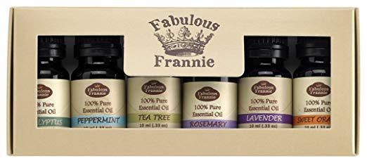 Fabulous Frannie Essential Oil Basic Sampler Set 6/10ml