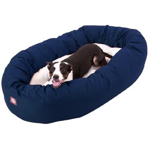 Majestic Pet Poly-Cotton Sherpa Bed