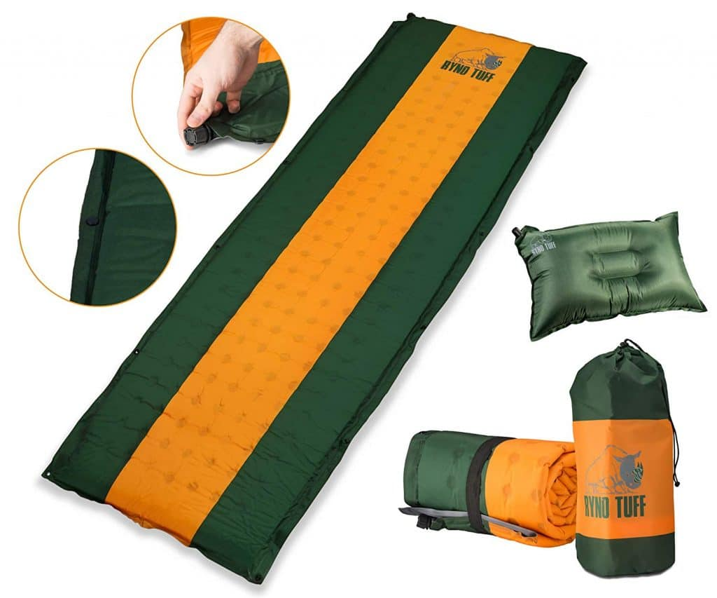 Ryno Tuff Sleeping Pad Set