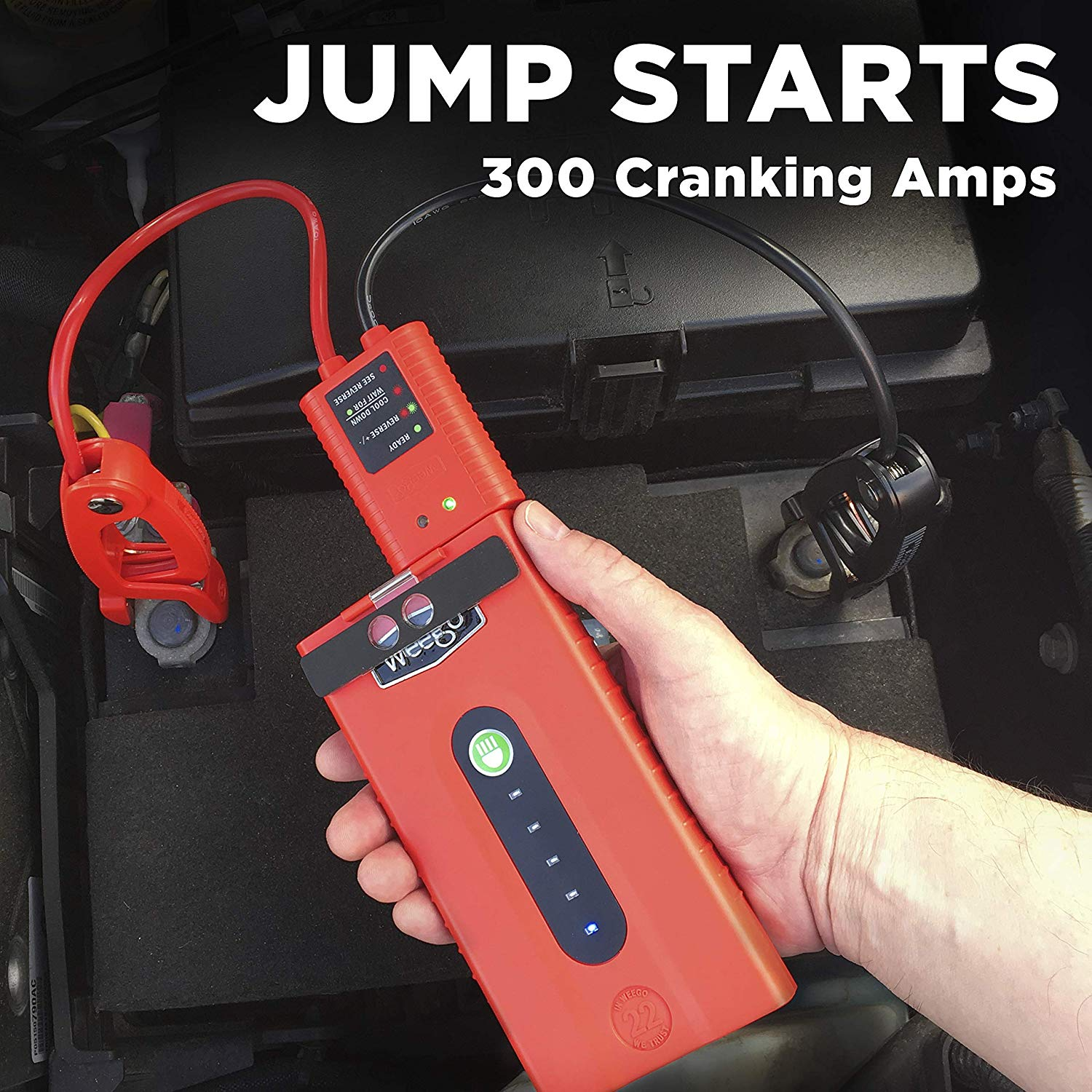 Weego 22 Jump Starting Powerpack