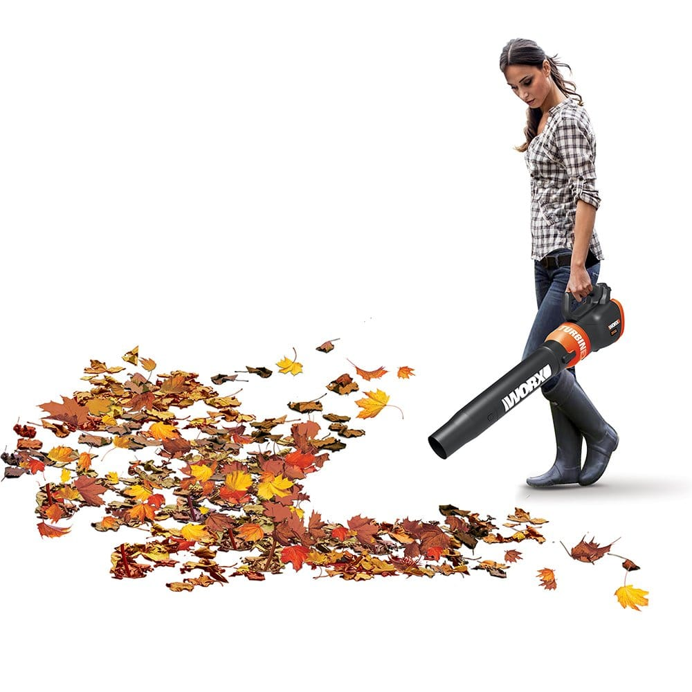 Worx Cordless Battery-Powered Leaf Blower