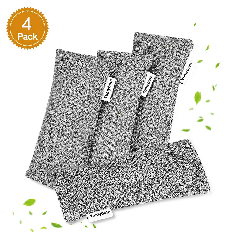 4 Pack - Large Charcoal Deodorizer