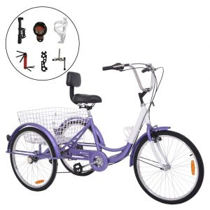 Barbell Single and Seven Speed Adult Tricycle