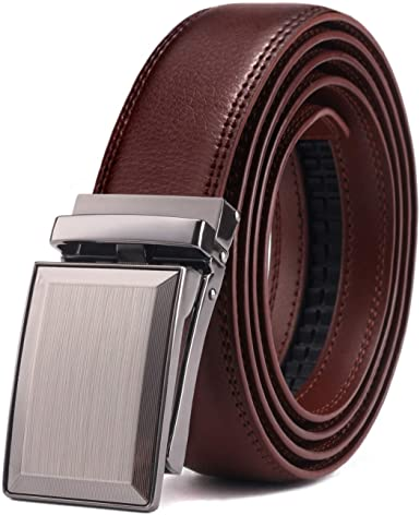Bulliant Men's Click Ratchet Belt Of Genuine Leather