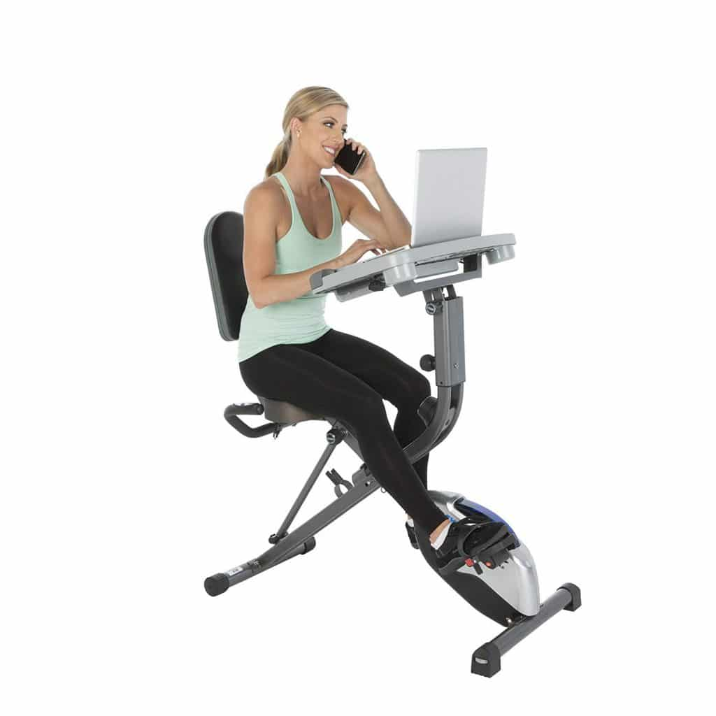 Exerpeutic ExerWorK Adjustable Folding Exercise