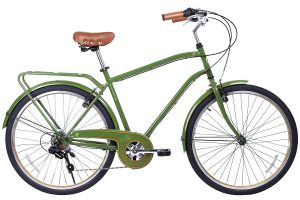 Gama Bikes Men's City 6 Speed Shimano Hybrid Bicycle