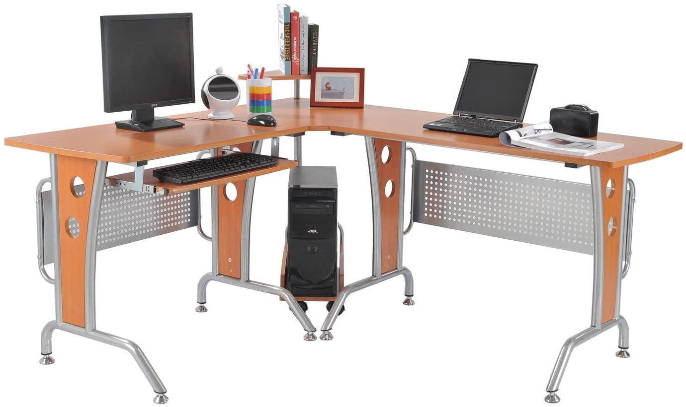 "HOMCOM 64"" Modern Computer Desk"