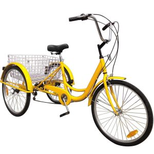 Happybuy 24-Inch Adult Tricycle