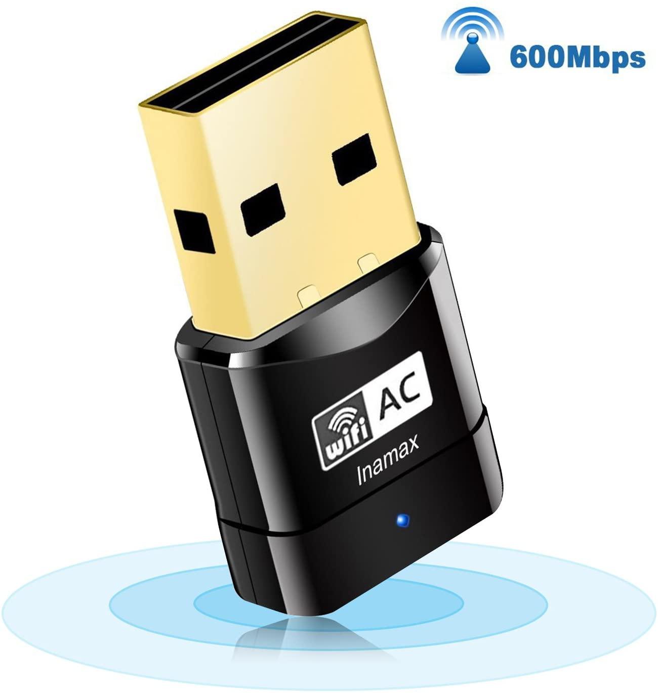 InamaxUSB WiFi Adapter, AC600