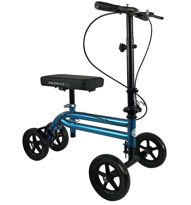 KneeRover Economy Knee Scooter Steerable Knee Walker Crutch Alternative