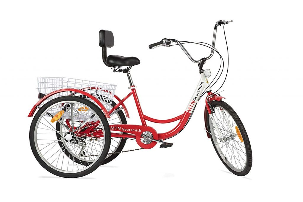 Komodo Cycling 6-Speed Adult Tricycle