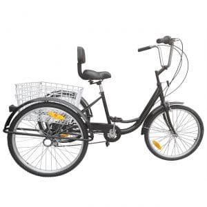 Ridgeyard 6-Speed Adult Tricycle