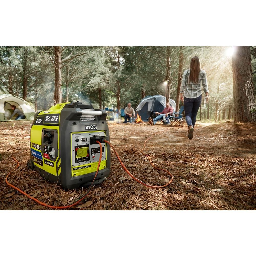 Ryobi Bluetooth 2,300-Watt Generator