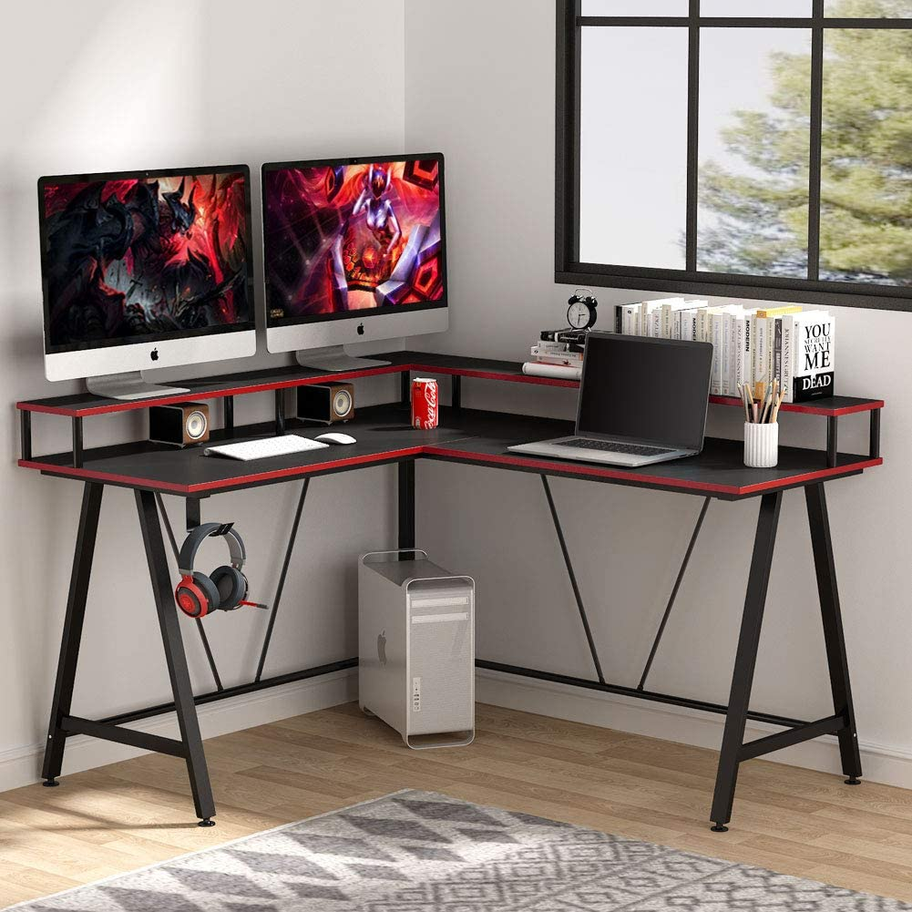 Tribesigns L-shaped Computer Desk