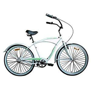 "Woodworm 26"" Mens Beach Cruiser Bike"