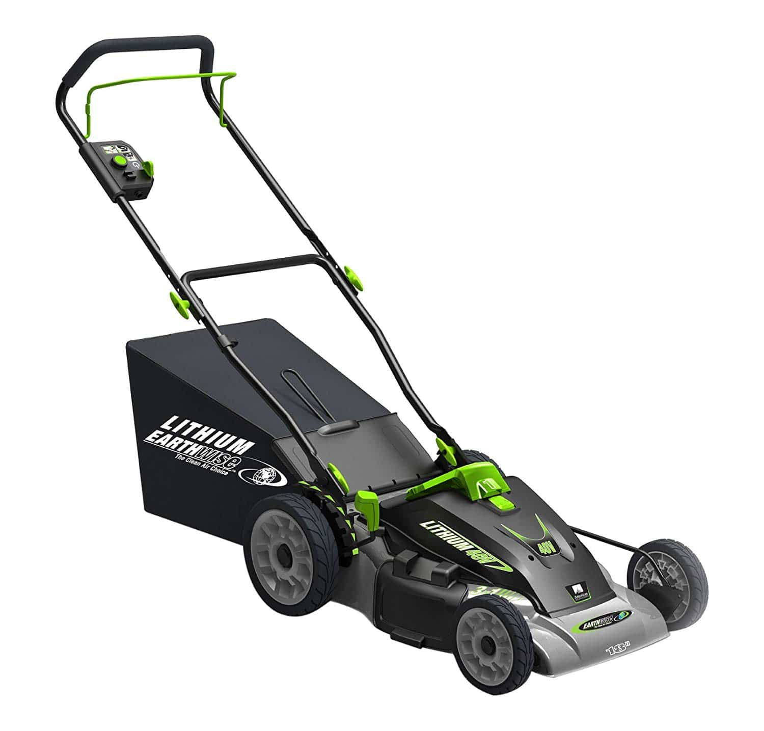 Earthwise 60418 Lithium-Ion Cordless Electric Lawn Mower